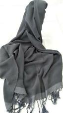 NEW Silk/Cashmere blend Evening Gray Glamour++ Flowing Soft Silky sexy & warm