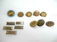 13 Us Army Pins Blue Disc Infantry Quartermaster Artillery Military Intelligence