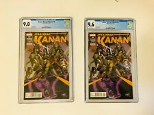KANAN THE LAST PADAWAN #6 (2 slabs) CGC 9.6 & 9.0
