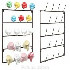 Espresso Cup Rack Tea Wall Mount Display Storage Organizer  Mug Coffee Hanger