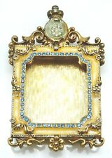 FABERGE Gold / Enamel Miniature Ornate Picture Frame NO RESERVE !