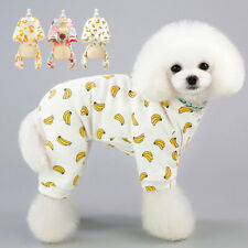 Cotton Small Dog Pals Pajamas Indoor Puppy Pet Clothes Dressing Gown Jumpsuit