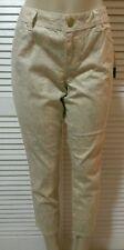 INC International Concepts Petite Jeans, Skinny Grey Lemon Lace Sz 14P