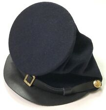 CIVIL WAR US UNION BLUE WOOL ENLISTED KEPI FORAGE CAP HAT-LARGE