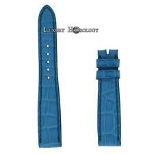 New Authentic Roger Dubuis Much More M22 14mm Short Blue Crocodile Strap