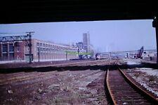 Original 1971 Illinois Central Governor's Special Train Chicago Slide #431