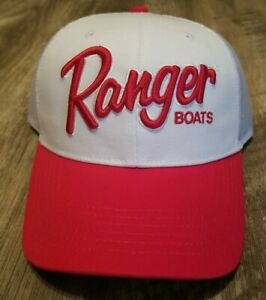 Ranger Boats Hat White and Red