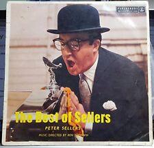 """Peter Sellers - Best of Sellers - Parlophone 10"""" LP"""