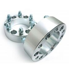 2 Pcs Wheel Spacers 6X5.5 To 6X5.5 | 108 CB | 12X1.5 | 50MM 2 Inch For GMC Lexus