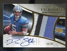 2007 Exquisite DREW STANTON RC ROOKIE AUTO 4-COLOR PATCH GOLD SP #88/99