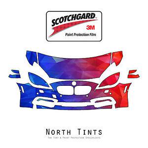 BMW 6 Series 2016-2019 PreCut 3M Scotchgard Paint Protection Film Clear Bra PPF