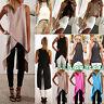 Womens Irregular Vest T-shirt Summer Casual Sleeveless Tank Tops Long Blouse HOT