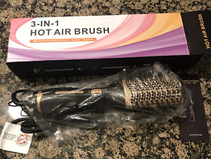 3 In 1 Hair Dryer Styling Blower Brush Curl Drying Straightening Hot Air #5230