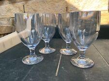 *AMAZING* Set of 4 Polycarbonate STRAHL 14oz Stem Glasses