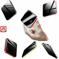 500000mAh UltraThin Dual USB Portable Power Bank External Battery Backup Charger