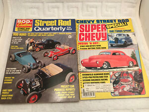 VTG 1971 Rod & Custom's Street Rod Quarterly Hot Rods Winter 1987 Super Chevy