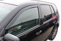 VW GOLF mk4 5 door 1997-2004 Front wind deflectors 2pc  TINTED HEKO