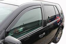 VW GOLF mk4 5 door 1997-2004 Front wind deflectors 2pc  TINTED HEKO