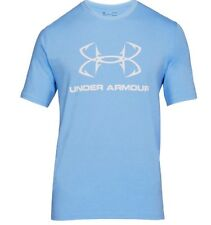 Under Armour * UA Fish Hook Sportstyle Tshirt Blue Heatgear