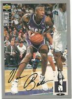 Vin Baker Upper Deck Collectors Choice SILVER 1994-95 NBA Basketball Card #42