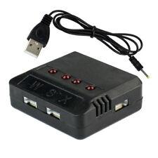 1 en 4 Cargador 5V USB de la Batería Lipo con conector 51005 4 XH Ports Battery