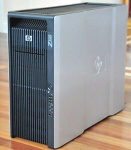 HP Z800 Workstation xenon E5620 2400GHz 12GB Quadro Fx 4800 Win10 pro SSD200+400