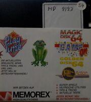 Magic Disk 64 September 09/93 1993 (C 64) Commodore C64  Diskette 100% ok