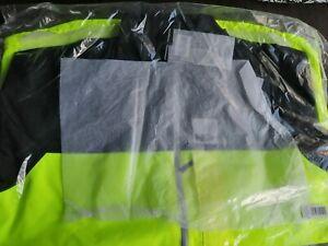 HUMP Strobe Men's Waterproof Jacket yellow black s small SEALED