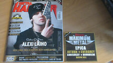 METAL HAMMER - MÄRZ 2021 MIT CD: ALEXI LAIHO/ALICE COOPER/WITHERFALL/MOONSPELL