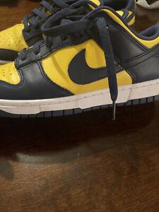 Size 10 - Nike Dunk Low 2021 Michigan
