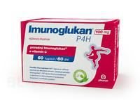 Genuine Imunoglucan P4H Vitamin C Immune System suppl. 60 caps. health support