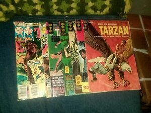 Tarzan 8 Issue Silver Bronze Age Comics Lot Run Set Gold Key Collection marvel