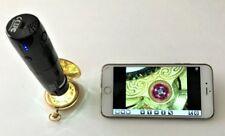iGAGING Wifi Multi Wireless 10-200x Measuring Microscope.UV/Visible LEDs