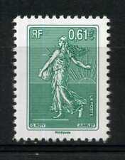 N° 4909 SEMEUSE DE ROTY DE CARNET LA LETTRE VERTE A 3 ANS NEUF **