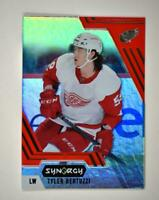 2020-21 UD Synergy Red Bounty Code #48 Tyler Bertuzzi - Detroit Red Wings
