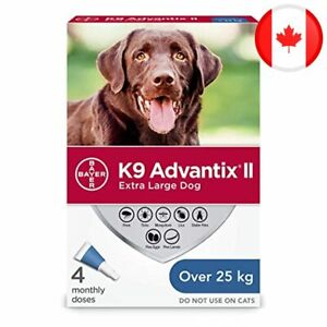 K9 Advantix II Flea and Tick Treatment for Extra Large Dogs weighing over 25 kg