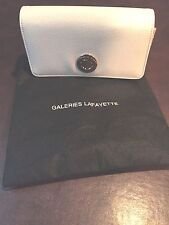 Galeries Lafayette 2 Tone Multifunction Leatherette Wallet/Purse NEW