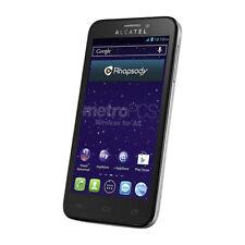 ALCATEL ONETOUCH Fierce 7024N - 4GB - Silver (MetroPCS) Smartphone - Brand New