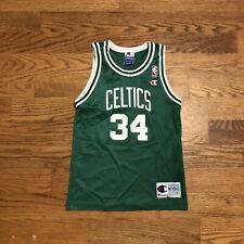 Vintage Boston Celtics Paul Pierce Champion Jersey Youth Medium Women's
