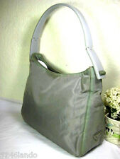Vintage PRADA Grey Nylon Hobo Shoulder Bag