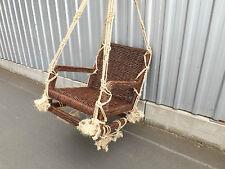 gartenschaukel schaukel korb garten rattan holz aufhängbar neu, Garten und erstellen