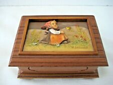 """Goebel Music Box by Anri """"In Tune"""" • Le 654 Of 10,000 • Music Works • Mint"""