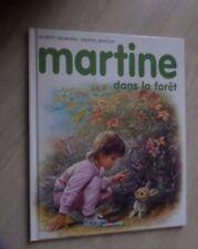 Martine dans la foret