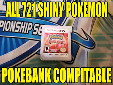 Pokemon Omega Ruby Unlocked All 721 Shiny Pokemon - Pokemon Bank Compatible!