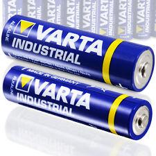 Varta Batterie Set 10 Stk AA Mignon + 10x AAA Micro Alkaline Industrial Quality