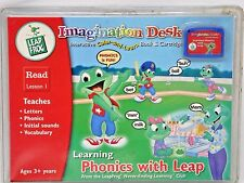 Leap Frog Imagination Desk Learning Phonics with Leap READ Lesson 1