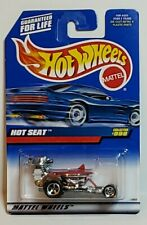 1998 Hot Wheels Mainline HOT SEAT Chrome/Red #999