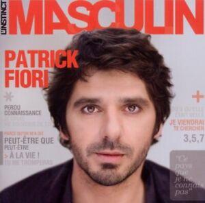 PATRICK FIORI - L'INSTINCT MASCULIN (CD) NEUF SOUS BLISTER