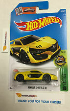 Renault Sport RS 01 #79 * YELLOW * Hot Wheels 2016 Case H & G * B1