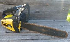 """Vintage McCulloch Eager Beaver 2.0 Chainsaw w/ 14"""" Bar - Complete Chainsaw"""